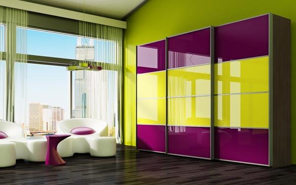 Окрашенное стекло Лакобель 2