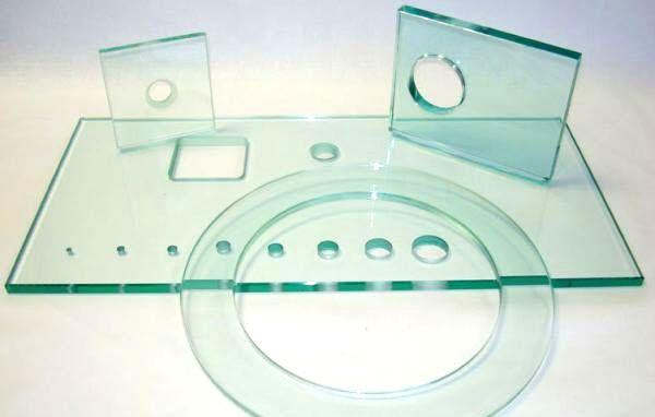 Сверление отверстий в стекле и зеркалах