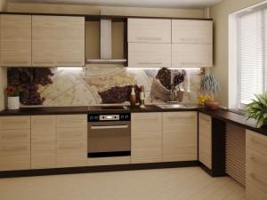 Фартуки для кухни с фотопечатью на стекле в Курске 57