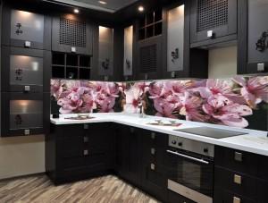 Фартуки для кухни с фотопечатью на стекле в Курске 59