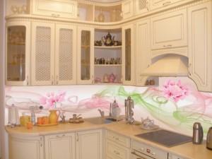 Фартуки для кухни с фотопечатью на стекле в Курске 60
