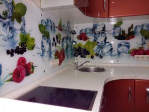 Фартуки для кухни с фотопечатью на стекле в Курске 61