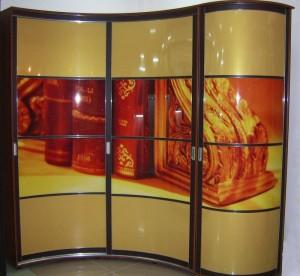 Шкафы купе с фотопечатью на стекле в Курске 61