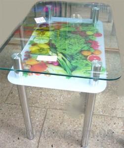 Мебель из стекла с фотопечатью в Курске 03