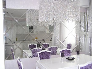 Зеркальная плитка в Курске на заказ l01